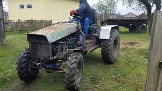 Самодельный трактор 4×4 DISKAVER 1.9d 65 лс