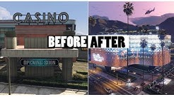 GTA ONLINE  CASINO BEFORE AND AFTER The Diamond Casino & Resort DLC