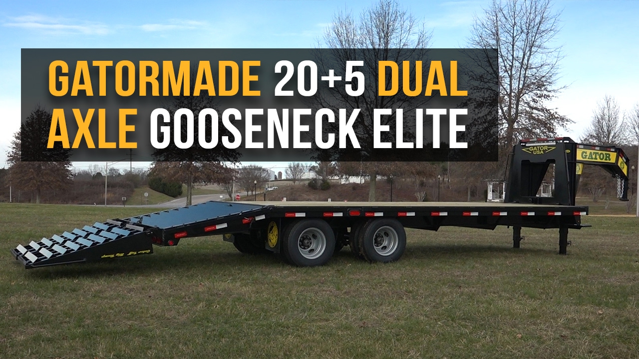 Gatormade 249k Tandem Axle Gooseneck Trailer Review Hotshot Warriors Wiring Diagram