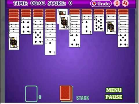 Spider Solitaire&& Try The Games