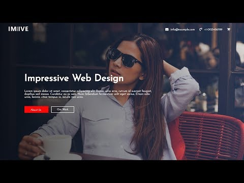 how-to-make-a-website-using-html-and-css-step-by-step-|-website-header-design