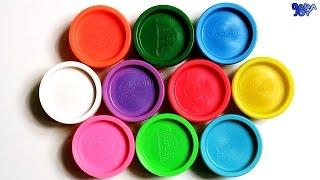 Aprender los Colores en Español | Aprende los colores con plastilina Play Doh | Videos Educativos