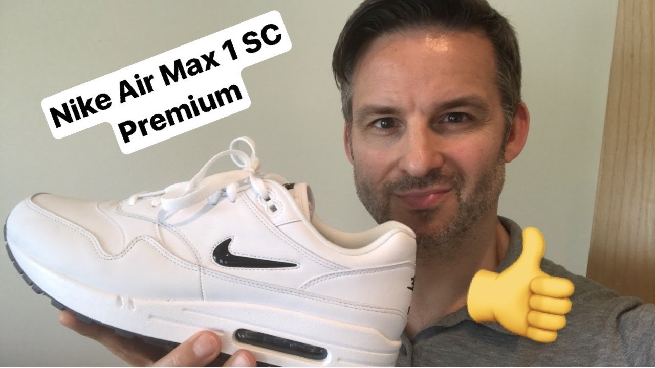 e5b0462c03 Nike Air Max 1 SC Premium Jewel Black UNBOXING - YouTube