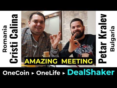 ⚀ DealShaker meeting with Petar Kralev (Bulgaria) and Cristi Calina (Romania)  ⚀  OneLife Partners ⚀