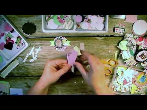 Handmade DIY Paper Embellishments