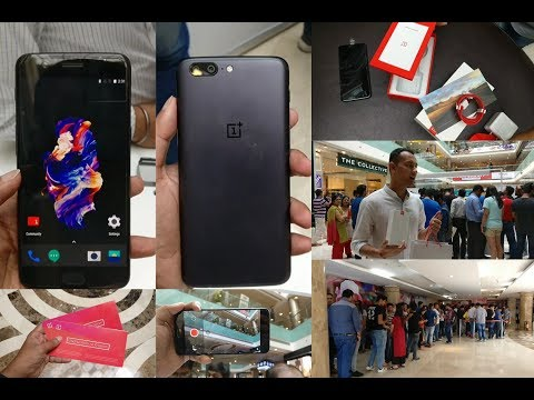 OnePlus 5 Pop Up Event in New Delhi | Vlog Style | Hands On