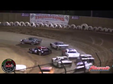 April 30, 2016 - Placerville Speedway - Point Race #3 - Pure Stock Highlights