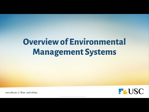 Overview Of Environmental Management Systems