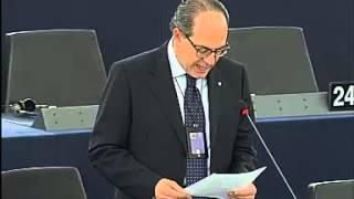 Intervento in aula di Paolo De Castro sull'accordo commerciale UE-USA