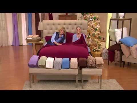 Malden Mills Split King Super Soft Polarfleece Sheet Set with Carolyn Gracie