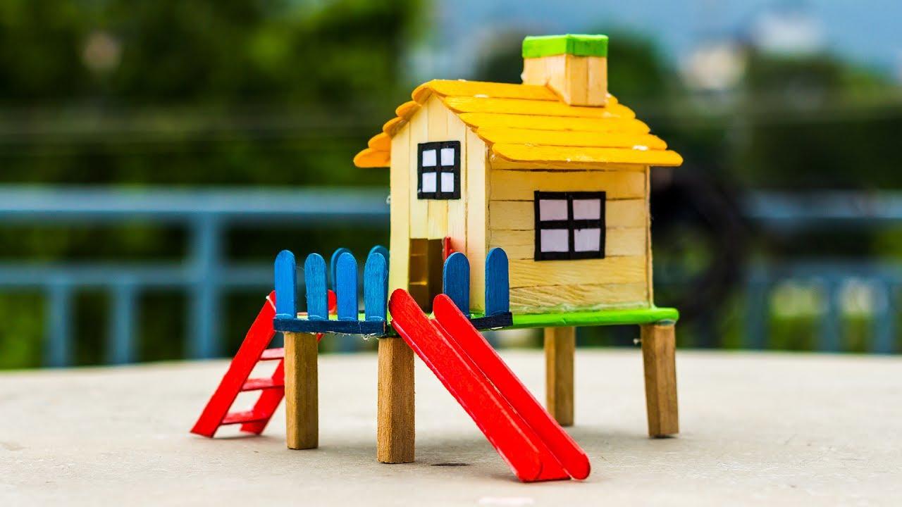 5 Amazing Popsicle Stick House Ideas