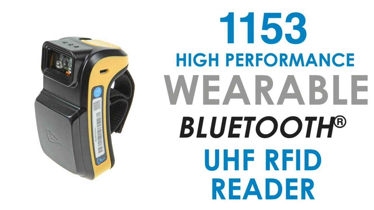 Wearable UHF Bluetooth RFID Reader - TSL