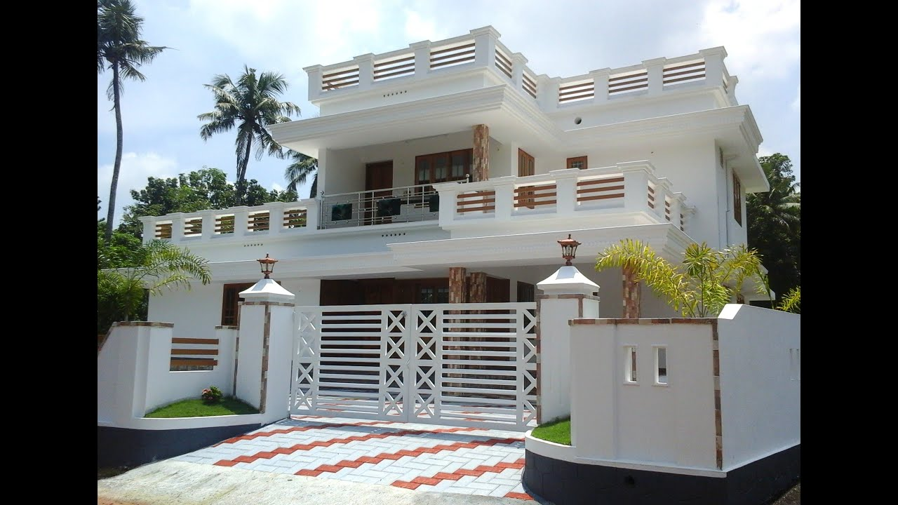 4 Bedroom House In 10 Cent Land For Sale In Angamaly, Ernakulam Near ICSE  School   YouTube