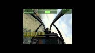 """ArmA 2 (armed assault 2) обучение вертолет """"кобра"""""""