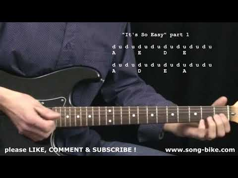 Its So Easy  Buddy Holly : 365+ Songs For Guitar !!