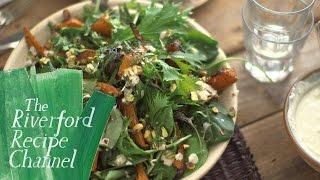 Sumac Roasted Squash Salad recipe