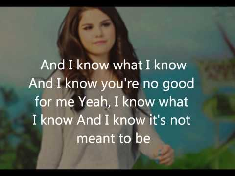 Selena Gomez  My Dilemma lyrics