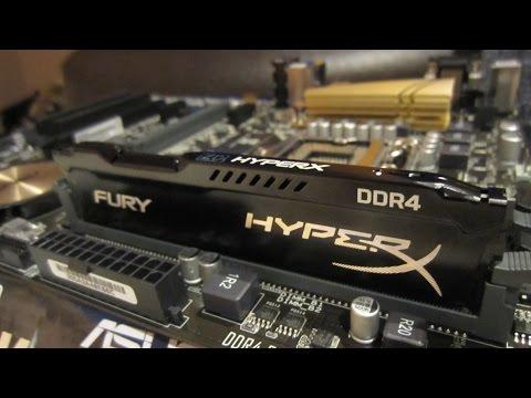 DDR4 Kingston HyperX Fury 2400 Mhz 8 Gb