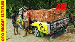Modifikasi Pick Up L300 Tangguh Muatan Berat ~ Owner @fatkhul elektrik psh