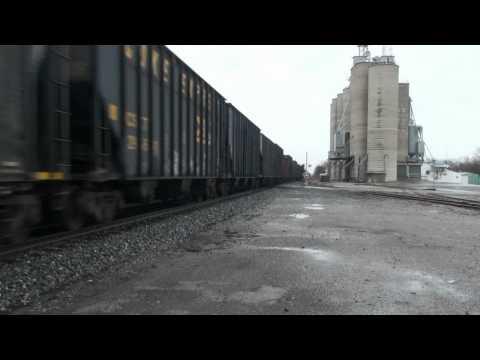 RAILFANNING CSX AT NORTH BALTIMORE OHIO