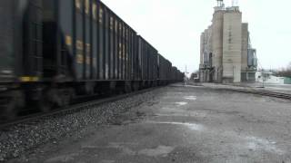 RAILFANNING CSX AT NORTH BALTIMORE OHIO