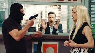 ОГРАБЛЕНИЕ ВЕКА - СМЕШНЫЕ ПРИКОЛЫ В БАНКЕ - На Троих - Лучший юмор на ICTV