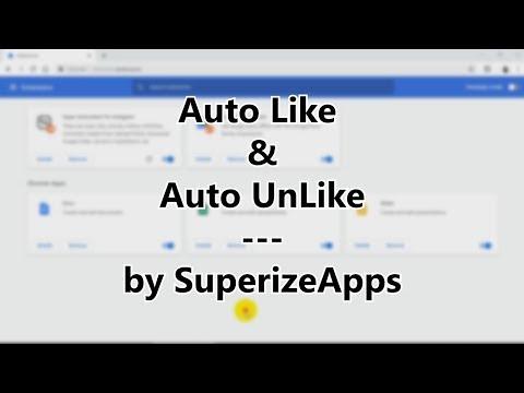 Auto Like & Auto UnLike - Super Automation For Instagram