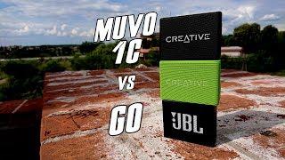 Creative MUVO 1c vs JBL GO - test, recenzja, review, porównanie - który lepszy?