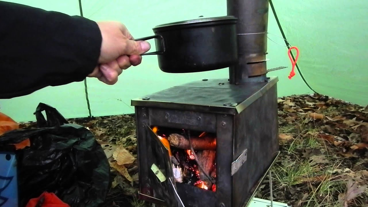 Hot Tent Wood Stove Bushcraft Overnight + Sleeping bag Rating Chat - YouTube : wood stove in tent - memphite.com