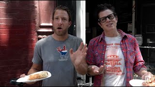 Barstool Pizza Review - Melani Pizzeria With Special Guest Johnny Knoxville