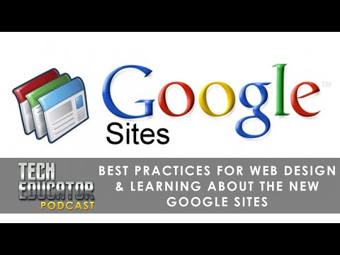 "Creating FREE Websites with the ""NEW"" Google Sites"