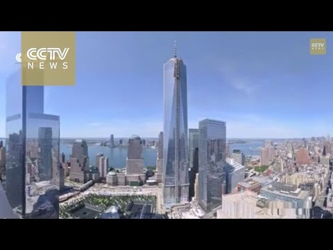 See how the New World Trade Centre was rebuilt  in 90 second