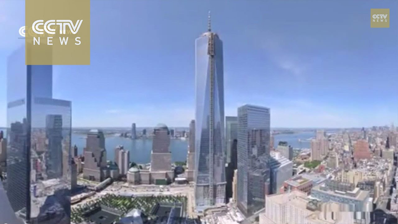 See How The New World Trade Centre Was Rebuilt In 90