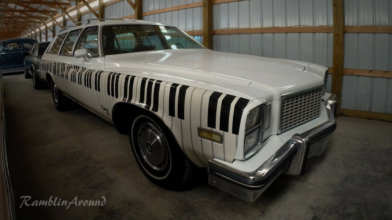 1976 Buick Wagon Michael Douglas Matt Damon Movie Car - YouTube