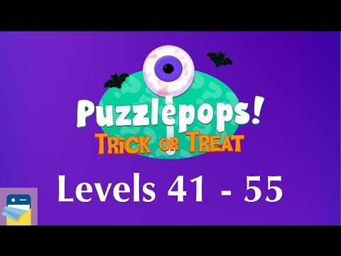 Puzzlepops! Trick or Treat: Levels 41 - 55 (The Cabin) Walkthrough Guide (by Layton Hawkes)