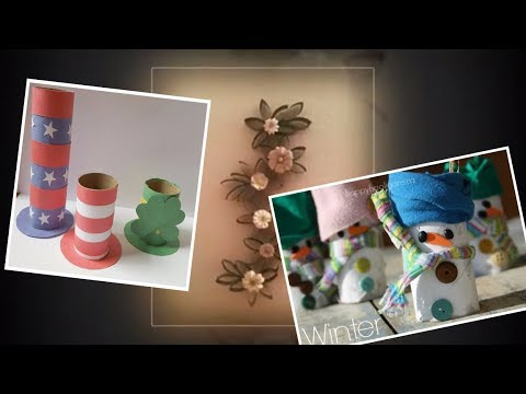 20 DIY Toilet Paper Roll Crafts You Need to See!