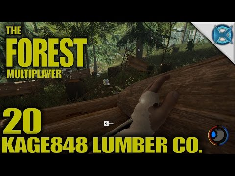 """The Forest -Ep. 20- """"Kage848 Lumber Co."""" -Multiplayer Let's Play Gameplay- Alpha 0.46 (S4)"""