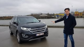 2018 Ford Edge Black SUV – NEW Full Review Interior + Exterior