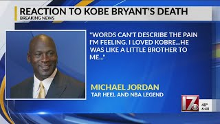 Michael Jordan, Duke's Coach K react to Kobe Bryant's death