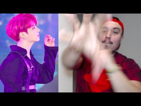 HIS HAIR IS RED?! | BTS LOTTE FAMILY CONCERT REACTION