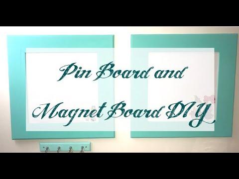 Pin Board and Magnet Board DIY