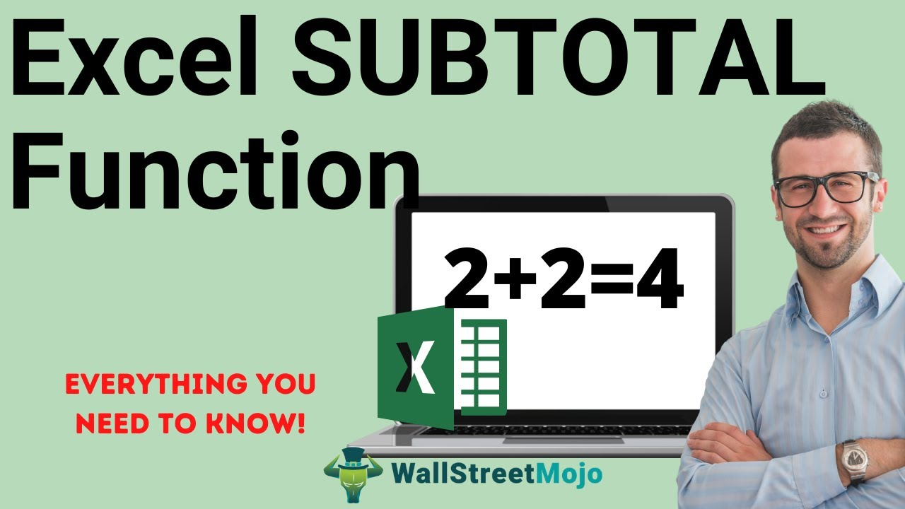 SUBTOTAL in Excel (Formula,Examples) |Guide to SUBTOTAL