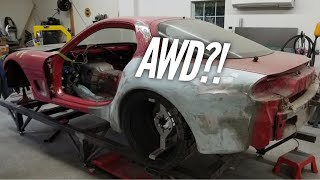 Another AWD 4 Rotor RX-7?? Will he finish it before I finish mine?