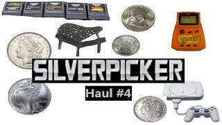 Garage Sale Picking Haul: Coins, Silver Scrap,Video Games, Disney Movies, and More! #004(This is a video detailing my picking at