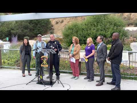 Oakland Wildfires: Councilmembers Sheng Thao, Dan Kalb, Loren Taylor With Fire Department Staff