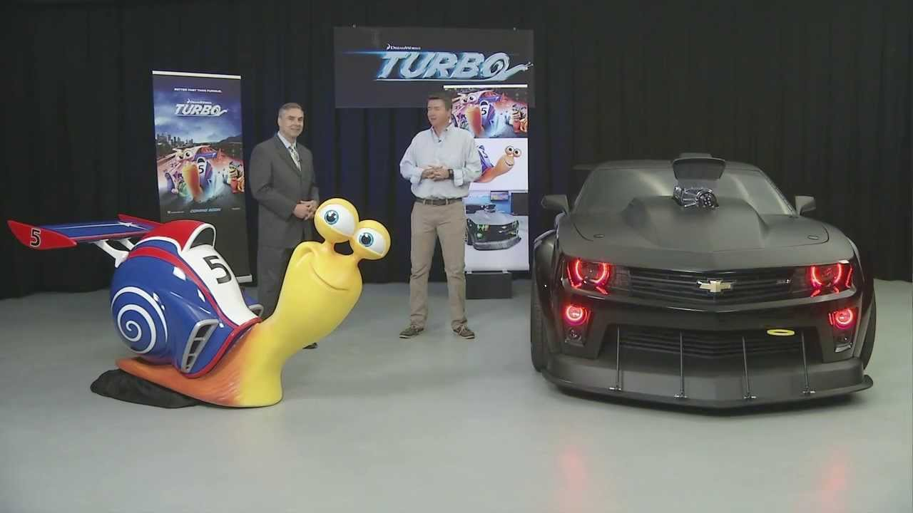 TURBO - Chevrolet Camaro from the Turbo Movie | AutoMotoTV ...