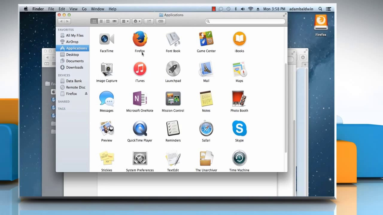how to install firefox on mac os 10