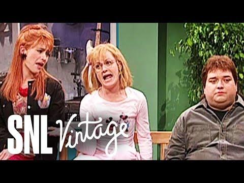 Kaitlyn Gets Her Ears Pierced - SNL