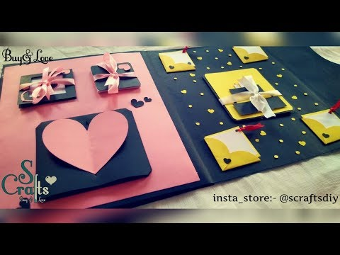 Birthday Card 💖 | Handmade | S Crafts | Gift card ideas | Special gifts | (Tutorial available)
