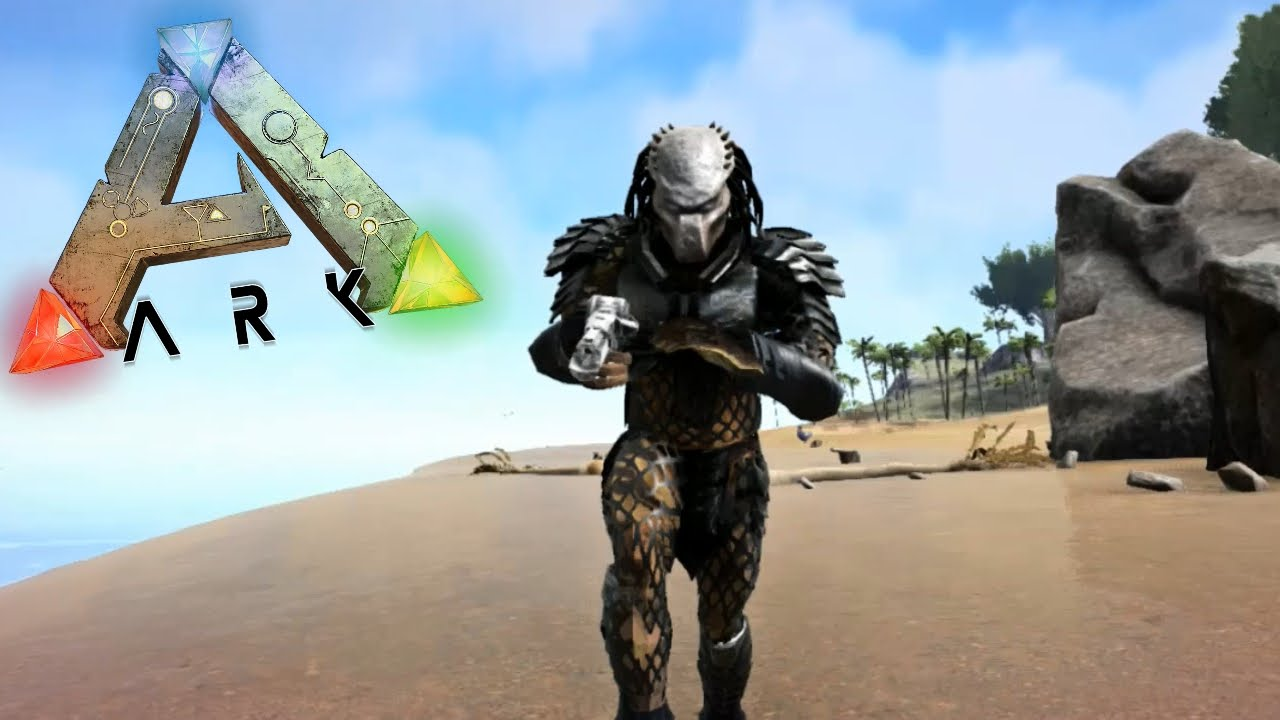 Ark Survival Evolved Predator Mod Ark Modded Gameplay Youtube